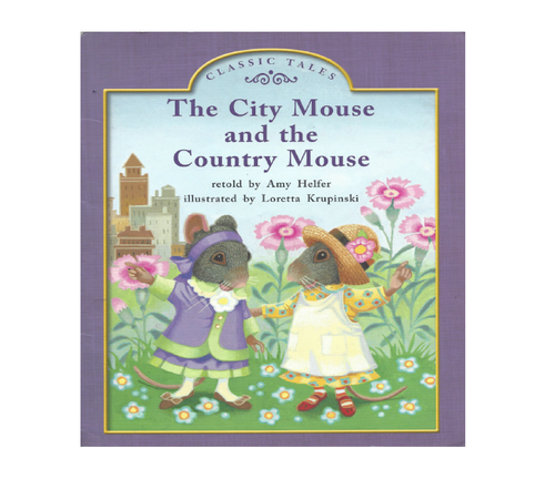 Blue87 The City Mouse and the Country Mouse