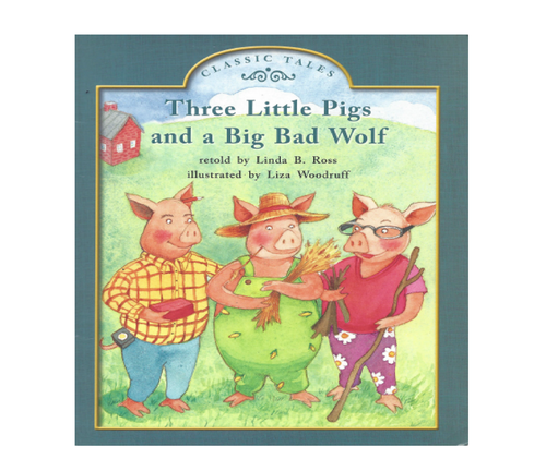 Green61 Three Little pigs and a Big Bad Wolf (Level F)
