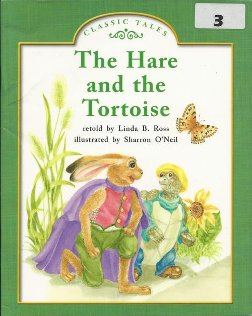 Blue75 The Hare and the Tortoise